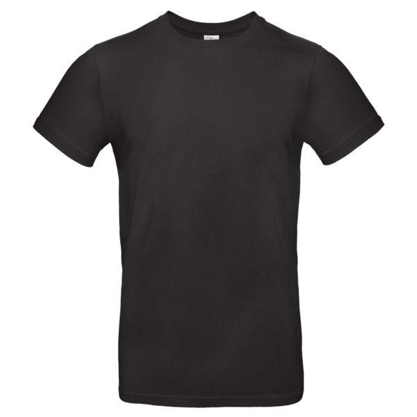Tee shirt à personnaliser noir homme col rond