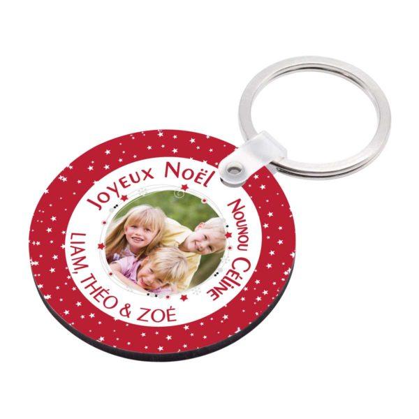 Cadeau noël nounou. Porte clé à personnaliser nounou et photo